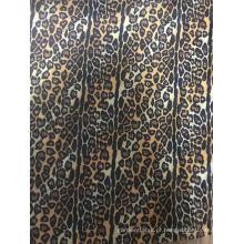 Vestido de cetim com estampa de flores em tecido personalizado