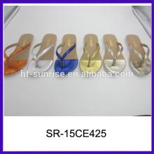 Flache Sandalen für Mädchen letzte Damen Sandalen Designs Damen Sandalen Foto