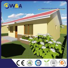 (WAS1503-60D) Bungalow ou maisons modulaires préfabriquées en Chine à la mode moderne