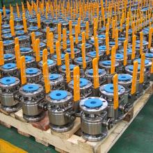 Válvula de bola flotante de acero forjado de 2 piezas