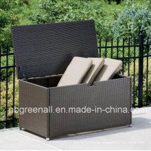 Waterproof UV-Resistant PE Wicker Cushion Storage Box