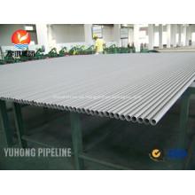 Tubo de acero inoxidable dúplex ASTM A789 S31803