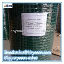 Plástico revestido soldado Wire Mesh confiável fábrica / fio de carbono