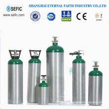 Small Portable Oxygen Aluminum Gas Cylinder (MT-6-6.3)