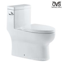 Peças sanitárias americanas americanas do toalete cerâmico de uma parte