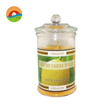 Fragrance Label Wedding Aroma Dekorativt glasstearinljus