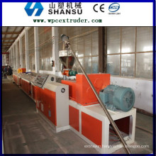 PRICE OF WPC PROFILE MACHINE PLASTIC WOOD PLASTIC COMPOSITE Machine Line / wood plastic composit machine