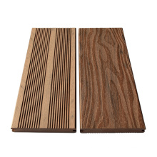 EN standard deep embossing mixed color wpc decking