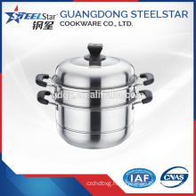 Selling kitchen using stainless steel steamer pot