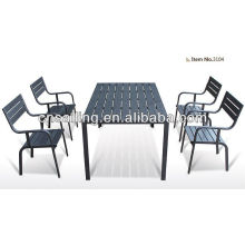 New Style All Weather poly wood table and chair