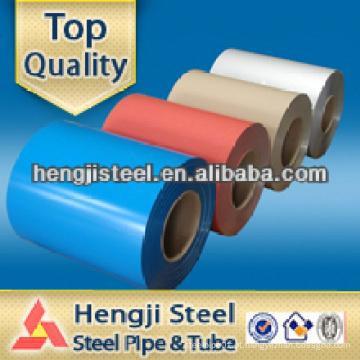 Fabricante cor galvanizado pré-pintado aço ppgi bobina