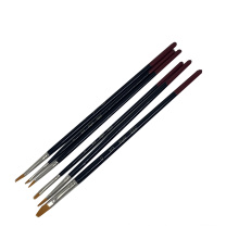 Synthetic Hair Wood Handle Artist Painting Brushes Set