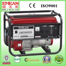 Generador silencioso casero de la gasolina del poder 2kw con CE Soncap