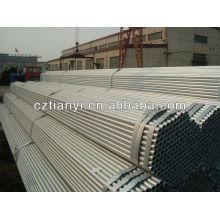 API 5L GR.B tubo de aço sem costura pré-galvanizado a quente