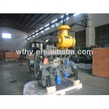 Refrigerado a água 6 cilindro Diesel potência Motor