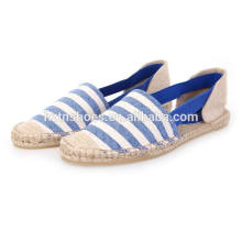 2016 simple design women casual Espadrille in slip on shoes