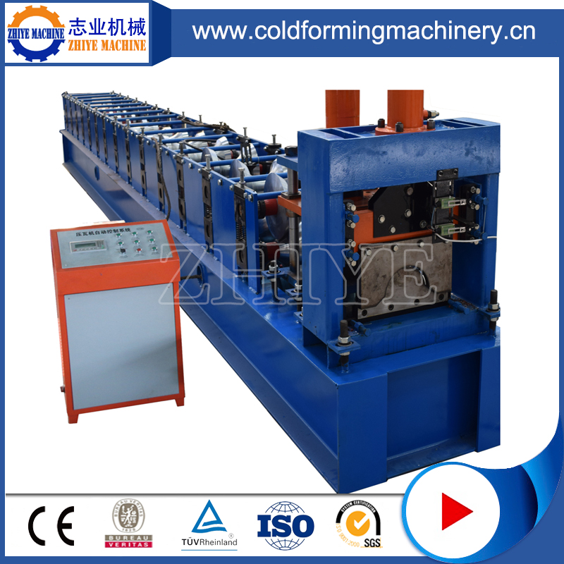 Υψηλής απόδοσης PPGI Ridge Cap Forming Machine