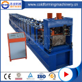 CE Standard Steel Ridge Cap Roll Forming Machine