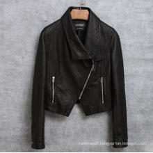 Real Sheep Leather Jacket for Women