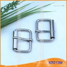 Tamaño interior 25.5mm Hebillas de metal para los zapatos, el bolso o la correa KR5126