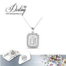Destin bijoux cristal de Swarovski pendentif Regal & collier