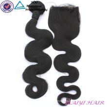 Nenhum cabelo processado químico dos pacotes do cabelo do Virgin