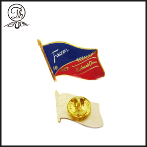 Flag promotional lapel pins cheap