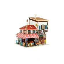 Wood Collectibles Toy for Global Houses-Turkey Spice Market
