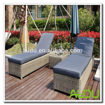 Philadelphia Patio Outdoor Wicker Lounger