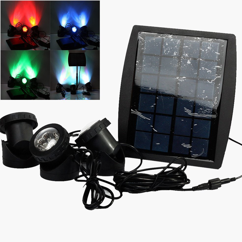 Outdoor Onderwater Solar Light RGB