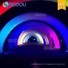 Luminosité personnalisée LED Ligne de finition Infatable Archway Publicité Arches