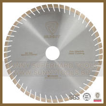 Silver Brazed Diamond Saw Blade for Cutting Marble