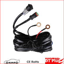 DIY Swicth DT Male Plug automotive led bar light wire harness