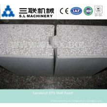 Máquina de panel de pared ligera ligera del bocadillo \ China Eps Máquina de panel de pared de sándwich concreta