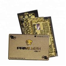 High Quality Custom Planting Thick Metal Business Card