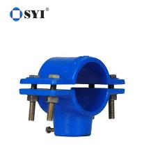 PN16 Irrigation Accessories Adding Exit Plastic PP Pipe Saddle Clamp