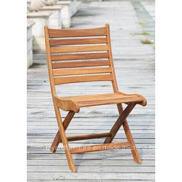 Patio Holz Falten Bistro Stuhl für Outdoor Garten Rasen Cafe Haus Terrasse Home Deck