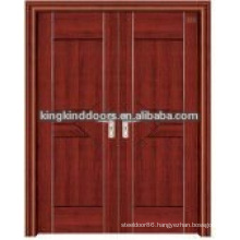 Latest design interior steel wood glass door JKD-3023(A)