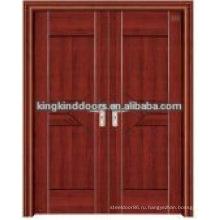 Последние Дизайн интерьера стали древесины стеклянные двери JKD-3023(A)