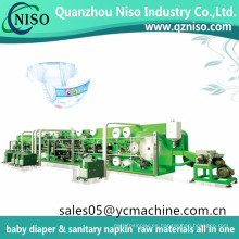 Cuties Desechable Baby Nappy Machine