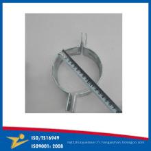 Dispositif de serrage de dispositif de métal de plaque de zinc de bride de tuyau fait sur commande Chine Chine Fournisseurs