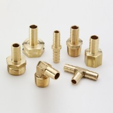 OEM CNC metal machine part 3 way connector
