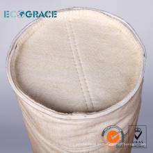 Bolso de filtro acrílico de homopolímero de aguja