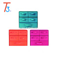 5 drawers non woven fabric shoes home storage box can laid-down