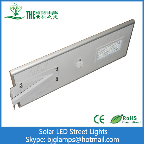 60W Street Lights of  All in One Solar LED Lighting