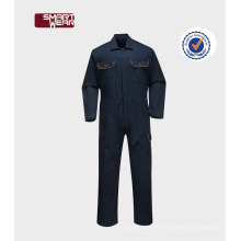 Chine OEM combinaison uniformes ignifuges unisexe imperméable vêtements de travail