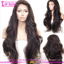 2015 New style glueless full lace wig for white women100 percent human hair wigs
