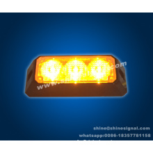 En saillie extérieur 3W Police Ambulance LED Marker Light