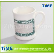 Stoneware Mug with Simple Decal