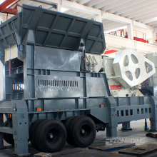 Granite Limestone Mobile Crushing Screening Plant